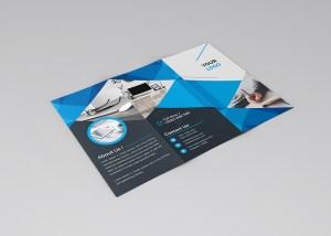 Stylish Clean Tri-Fold Brochure Template