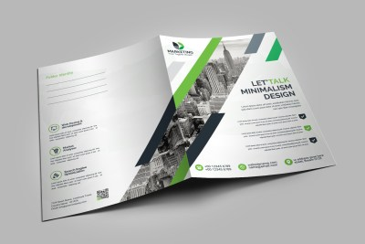 Modern Presentation Folder Template