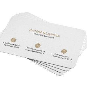 Sleek Visit Card Templates