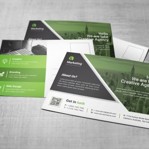 Business PSD Postcard Templates