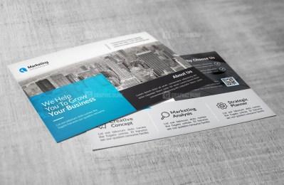 PSD Corporate Postcard Templates