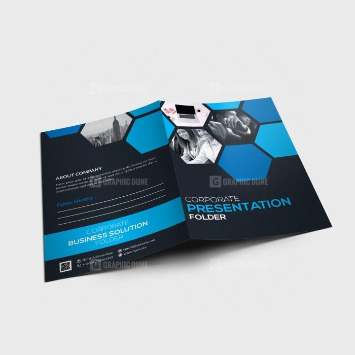 EPS Sleek Folder Design