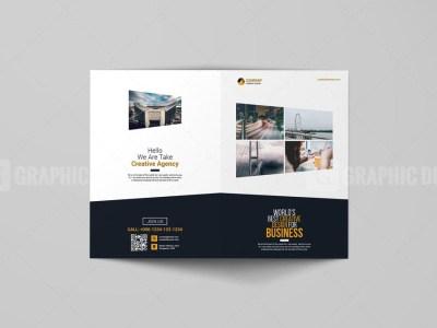 Elegant Bi-Fold Booklet Template