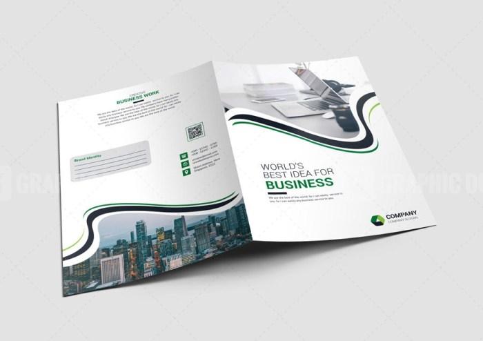 Clean Corporate Folders
