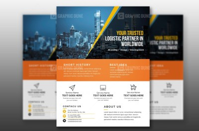 Freelancing Flyer Template