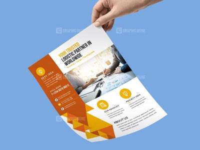 PSD Corporate Flyer Template