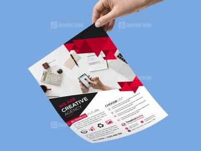 Stylish Agency Flyer Template