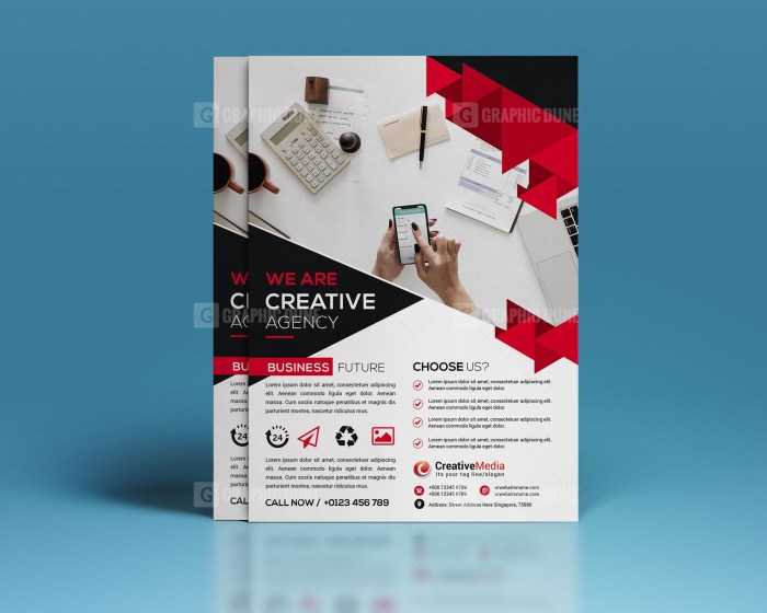 Stylish Agency Flyer Template