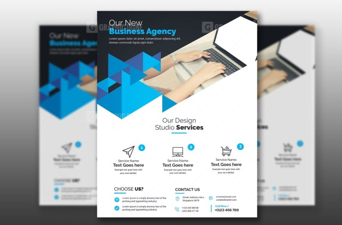 PSD Agency Business Flyer