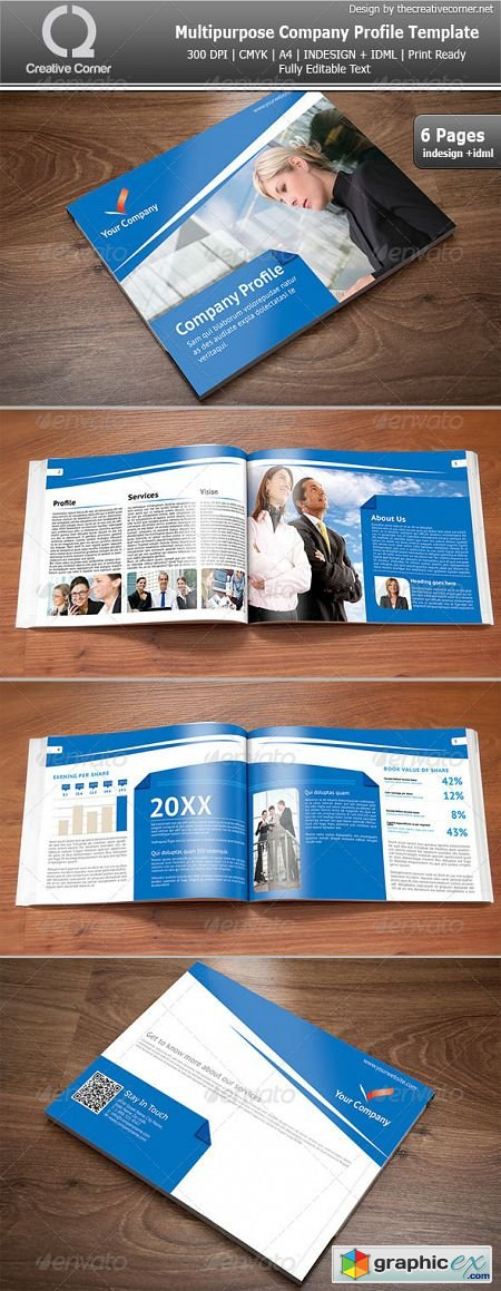 Free Company Profile Templates company profile cover design – Free Company Profile Template Word