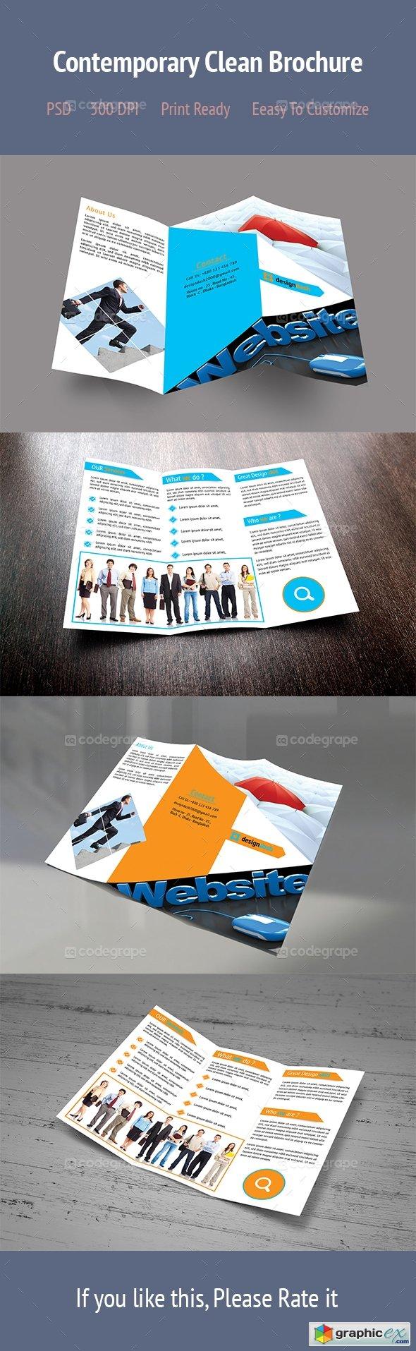 Contemporary Clean Brochure