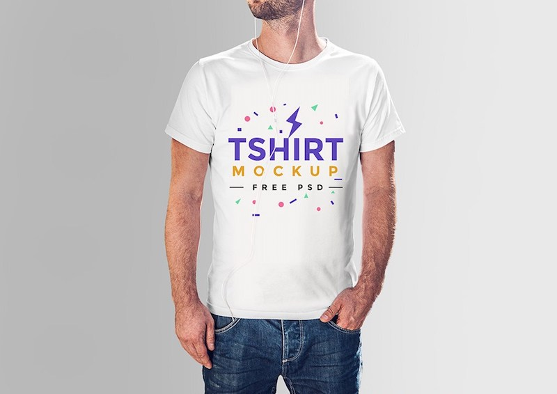 Download 20 T-Shirt Mockup PSD to Showcase your Apparel Design ...