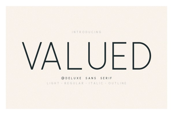 Valued 01