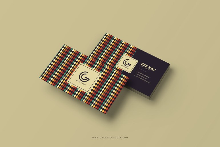 Free Retro Vintage Business Card Template