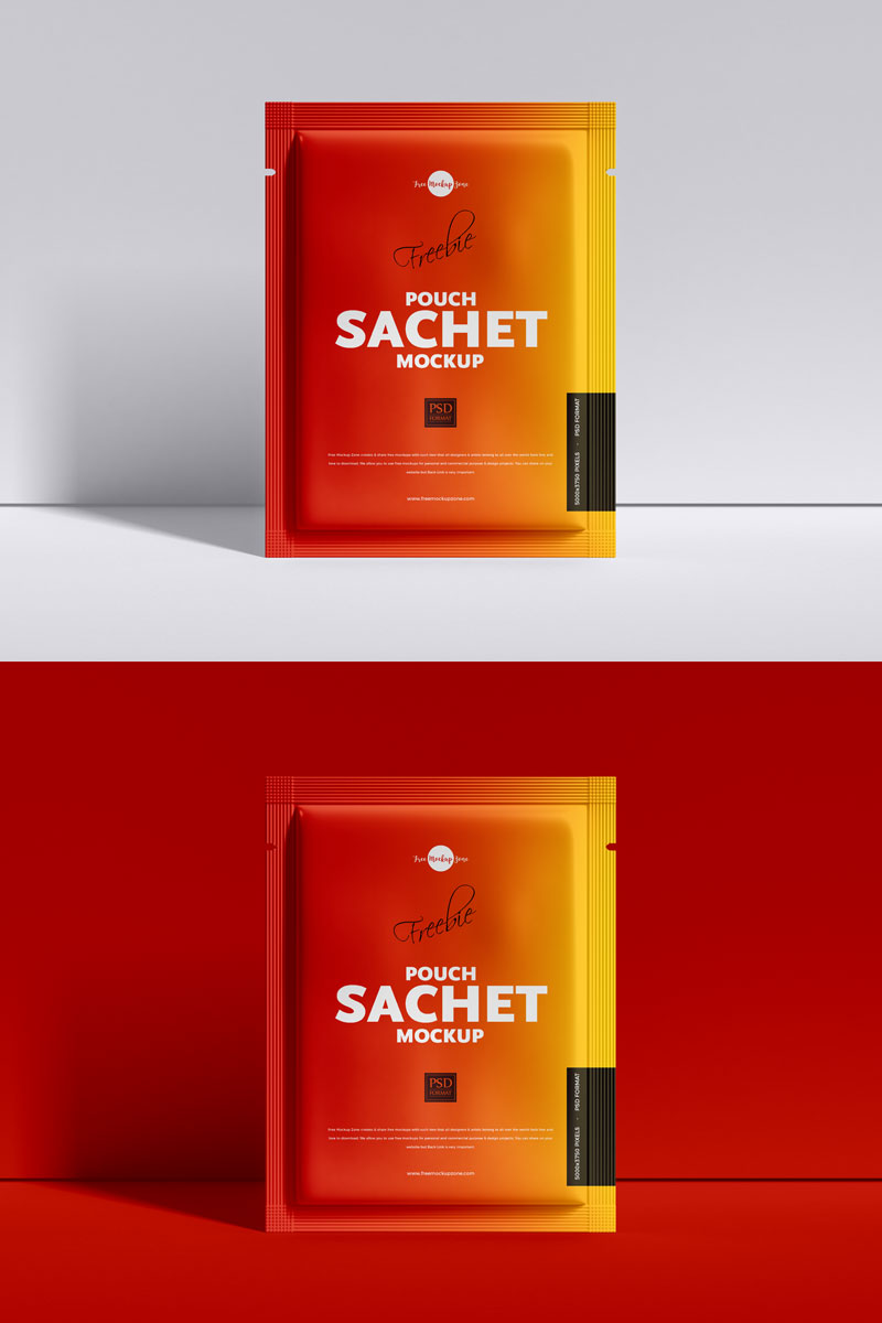 Download Free Packaging Sachet Mockup - Graphic Google - Tasty ...