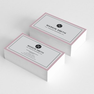 Plain Visiting Card Templates