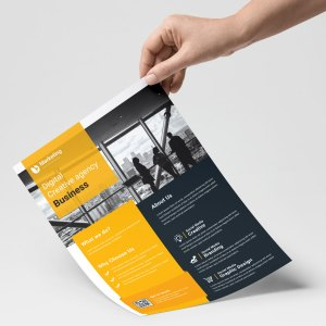 Cool PSD Flyer Templates