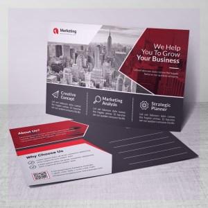 PSD Business Postcards Design