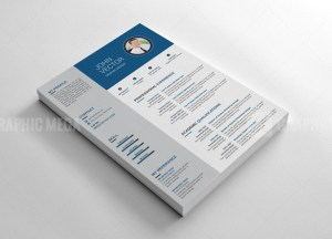 Layered Resume CV Design