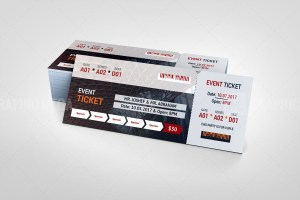 Theater Event Ticket