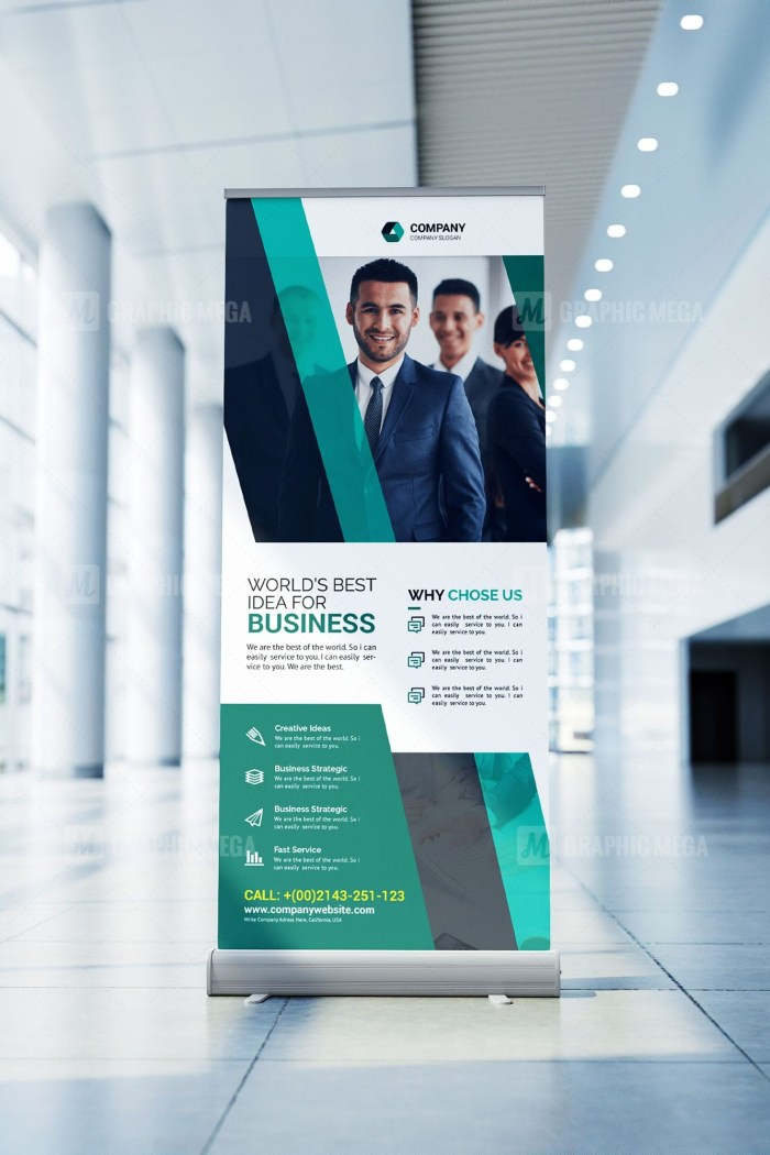Consultant Roll Up Banner Template