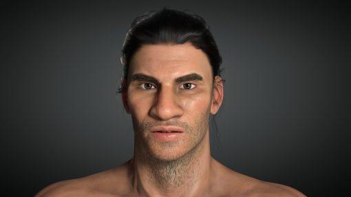 Tribal Warrior Digital Human