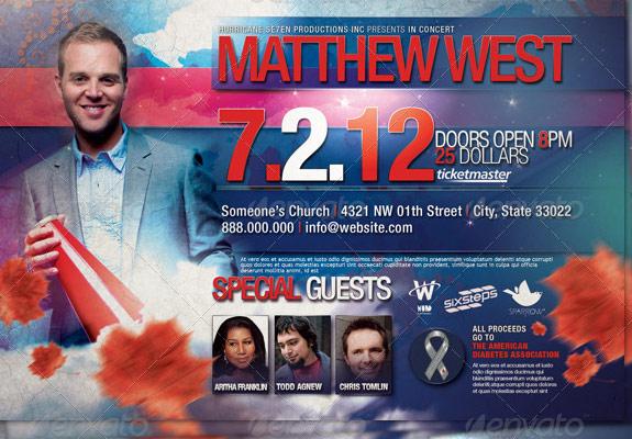 Gospel Concert Flyer Idealstalist