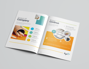 16 Pages Logic Professional Corporate Brochure Template