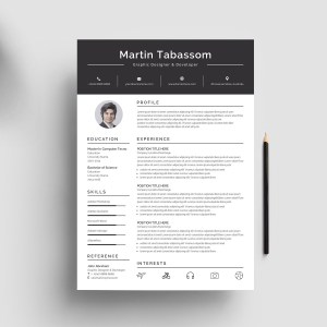 Impressive Resume Design Template