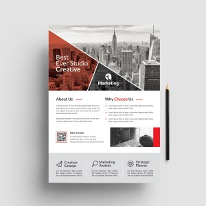 City Corporate PSD Flyer Templates