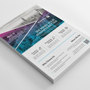 Creative PSD Business Flyer Poster