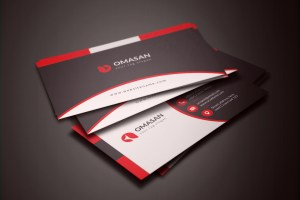 PSD Clean Business Cards