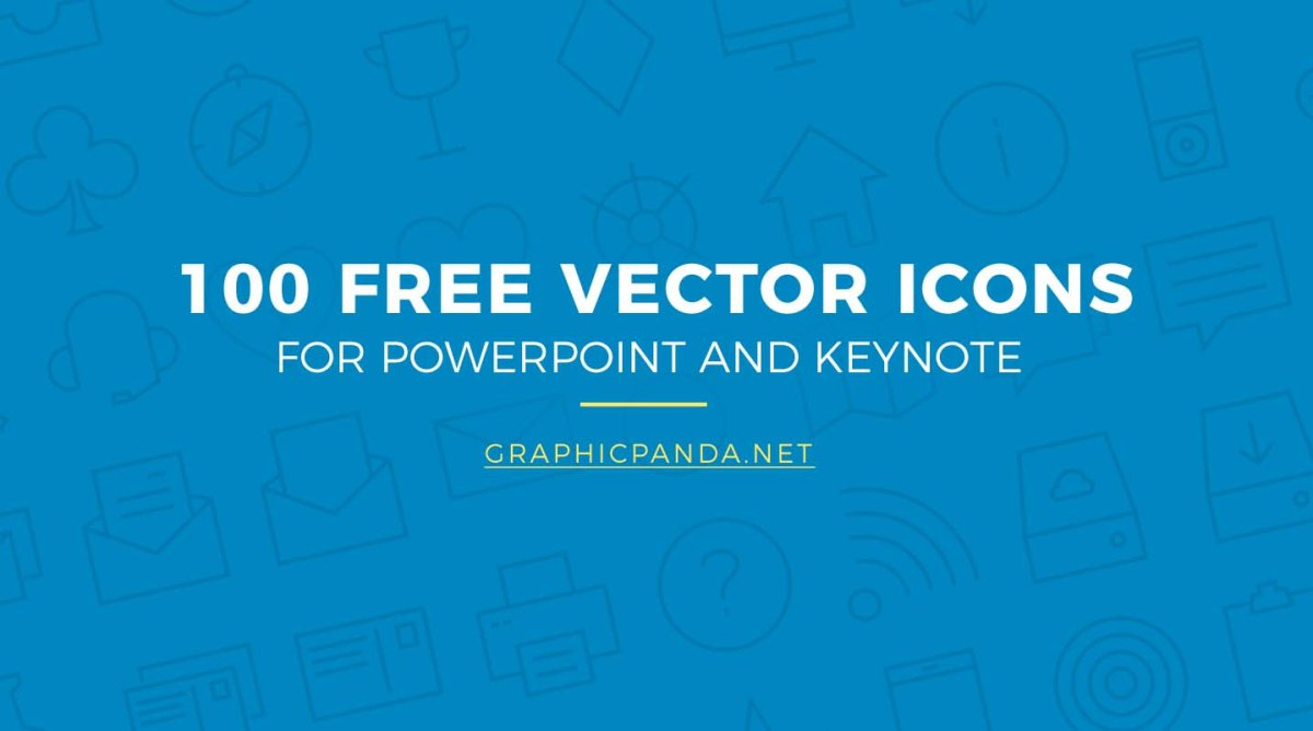 100 free business vector icons for powerpoint and keynote graphicpanda
