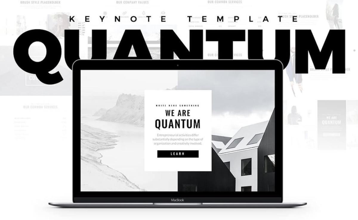 Quantum Minimal Keynote Template -min