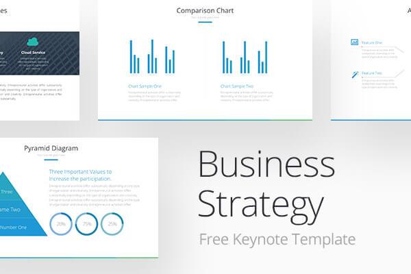 Free Keynote Templates Business Strategy Pitch Deck