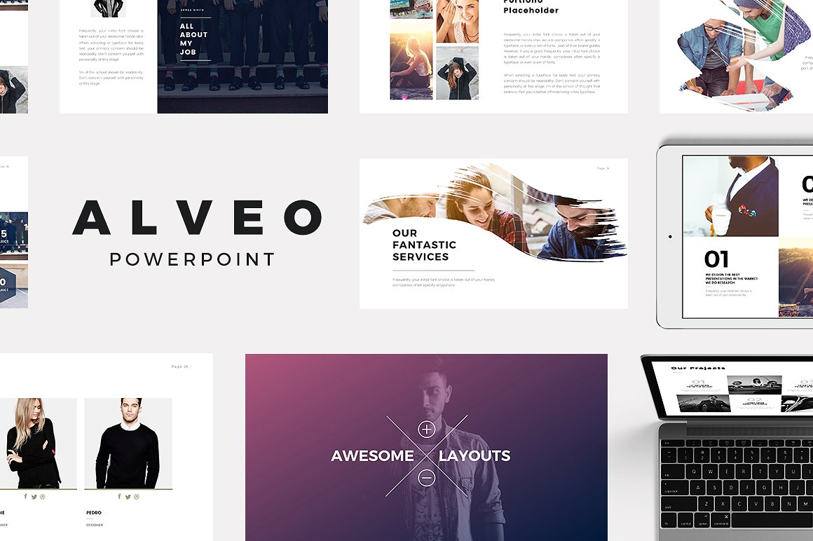 23 free and premium trending minimal powerpoint templates 2017 alveo minimal powerpoint templates toneelgroepblik Image collections