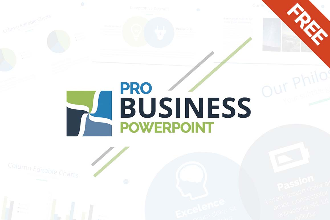 Free Business PowerPowerpoint Template Free PowerPoint Templates -