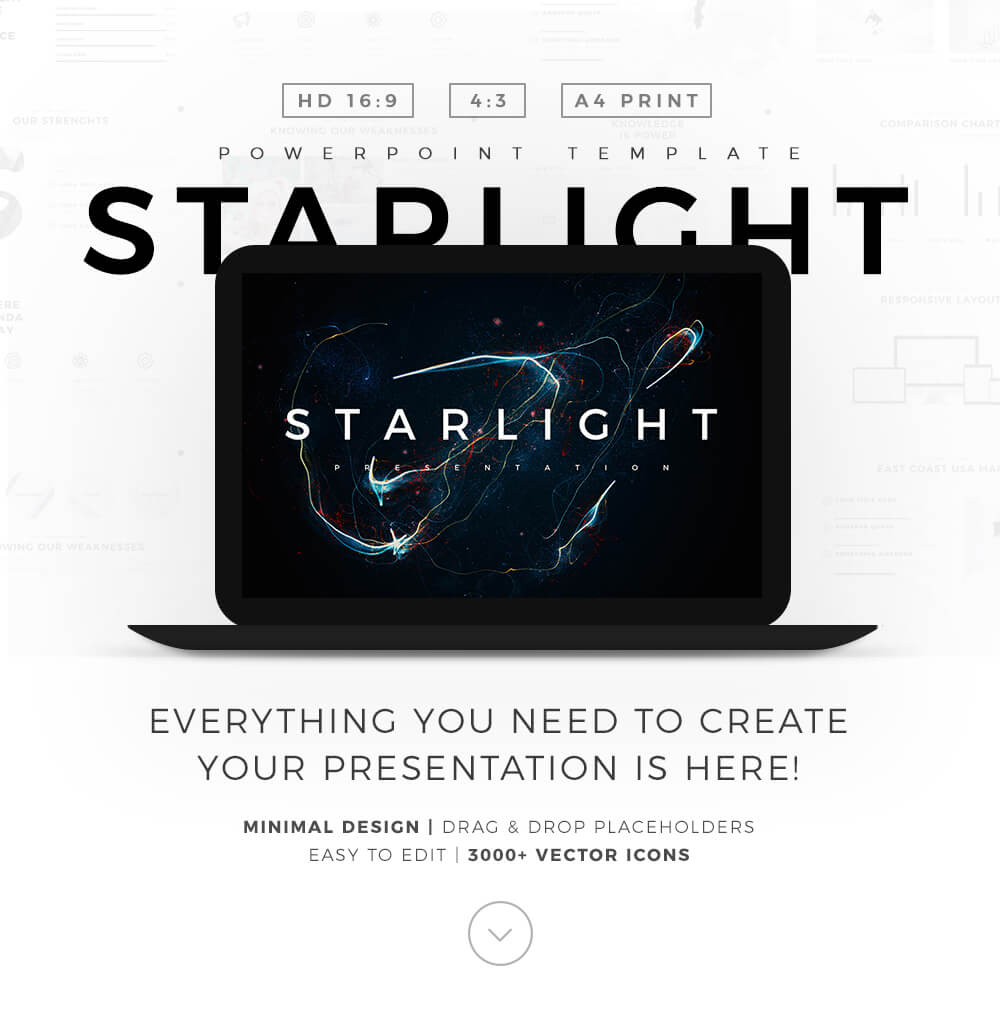 Free PowerPoint Template Minimal PowerPoint Templates