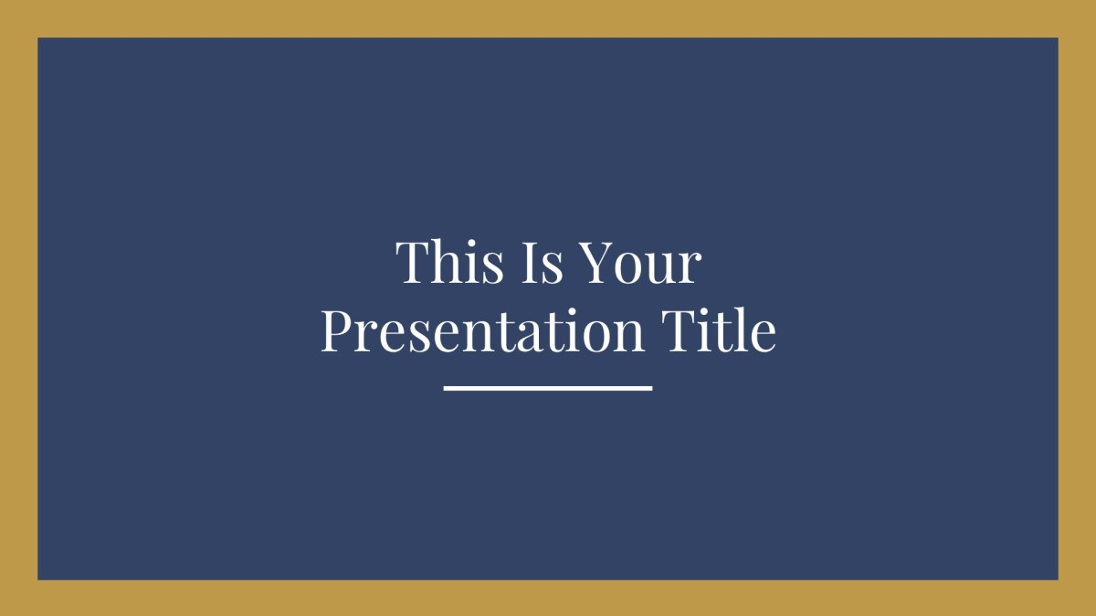 free elegant presentation template powerpoint keynote google slides