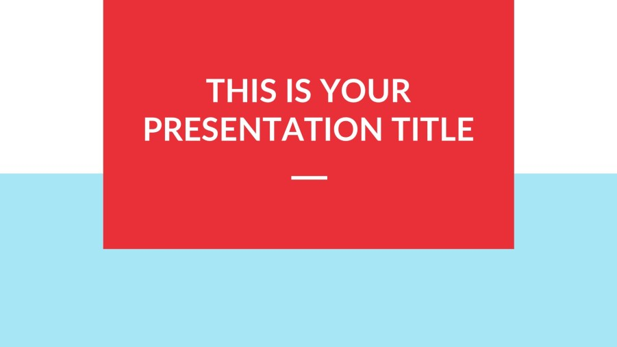 Free Google PowerPoints