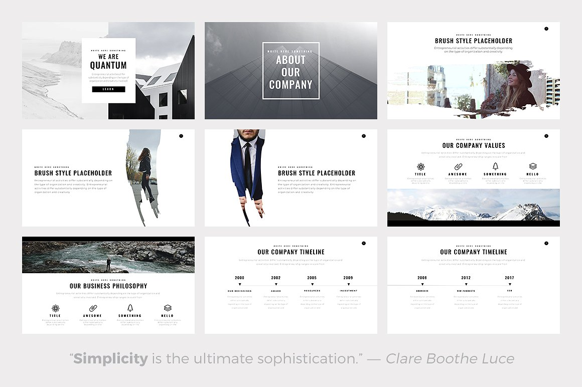 The 24 best minimalist powerpoint templates of 2018 best minimalist powerpoint templates best minimal keynote themes best google slides themes toneelgroepblik Gallery