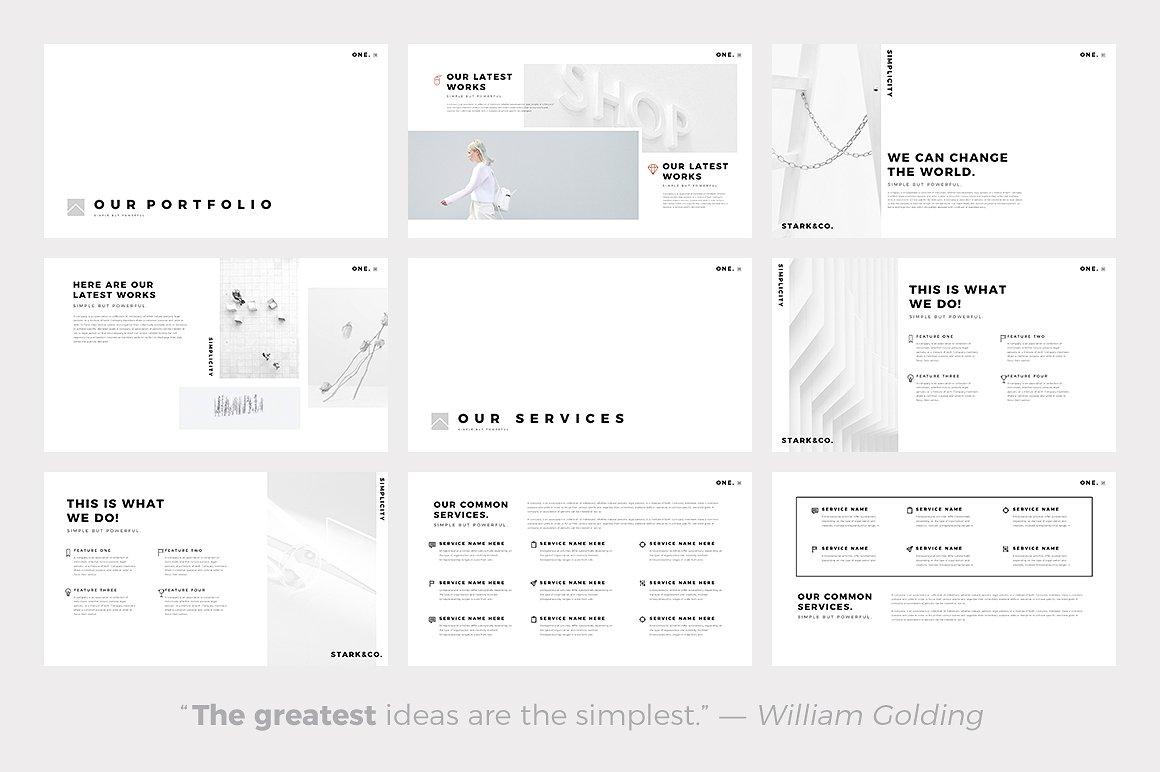 One Minimal - PowerPoint Templates - Keynote Themes - Google Slides.jpg