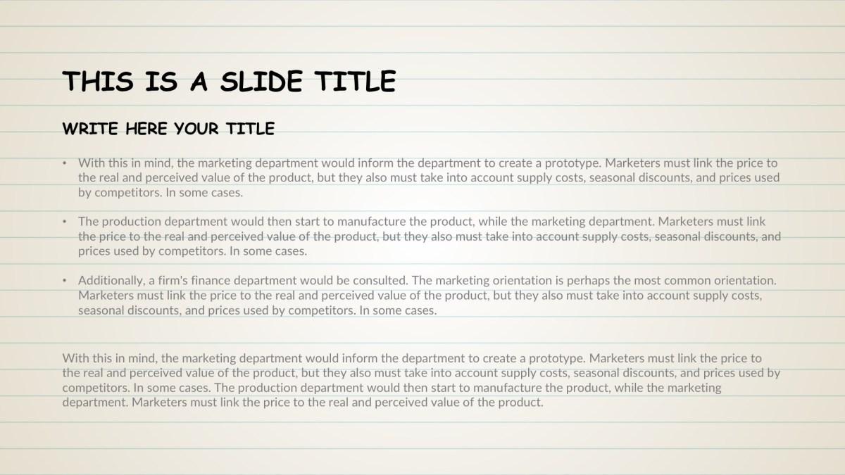 Kindergarten Free PowerPoint Template, Google Slides, Keynote