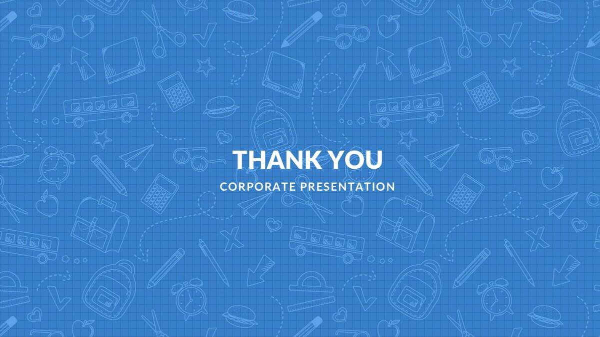 Blue Free PowerPoint Template, Google Slides, Keynote