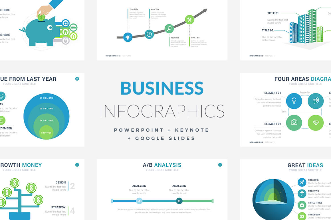 68 Business Infographic Templates - PowerPoint, Keynote, Google Slides