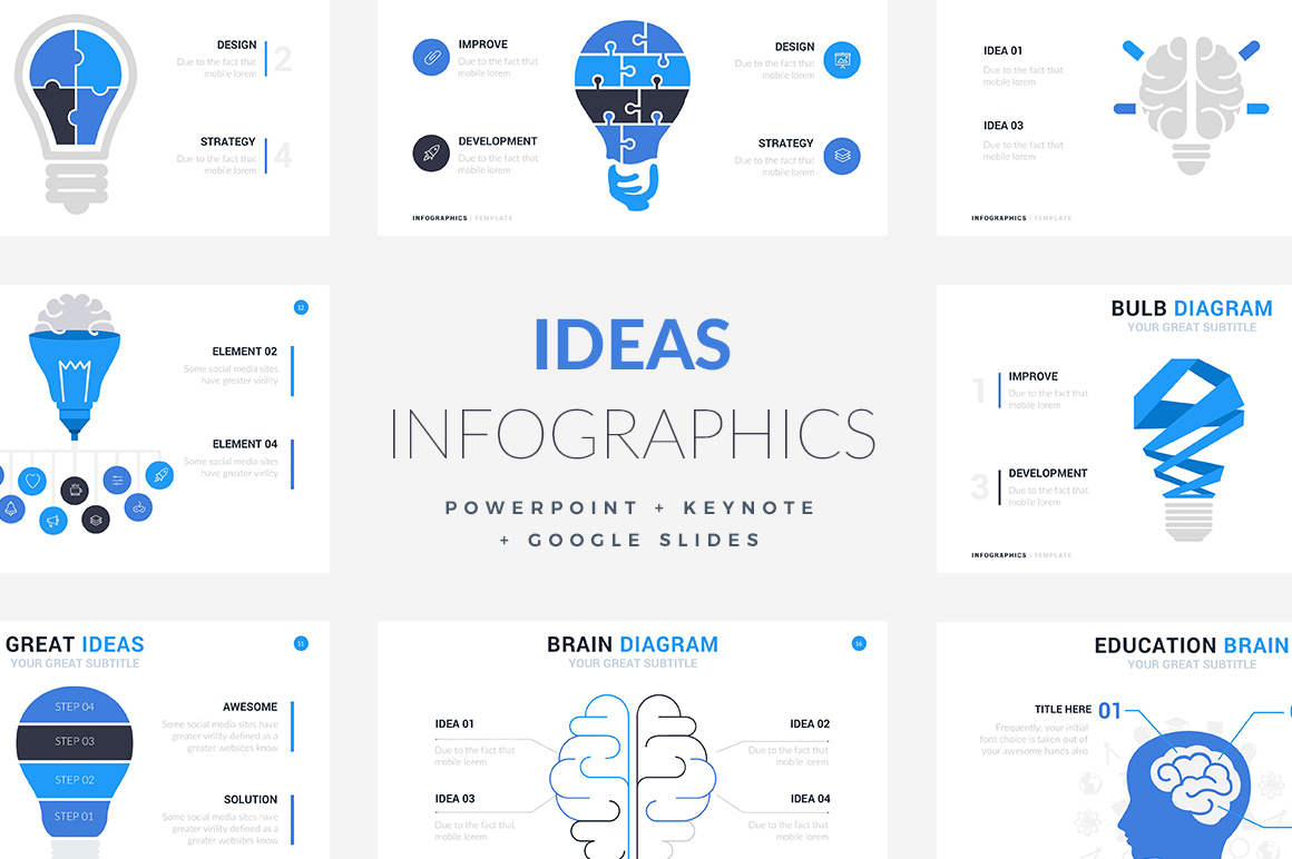 19 Ideas Infographic Templates Powerpoint Keynote Google Slides