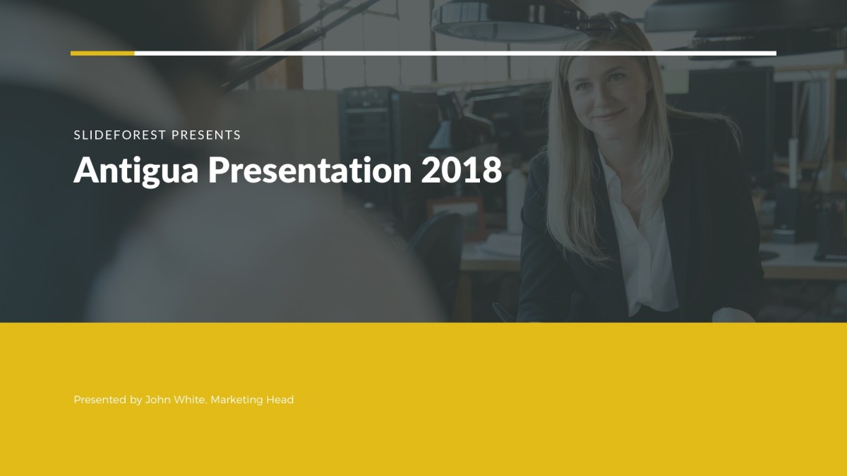 Antigua Free PowerPoint Template, Google Slides, Keynote