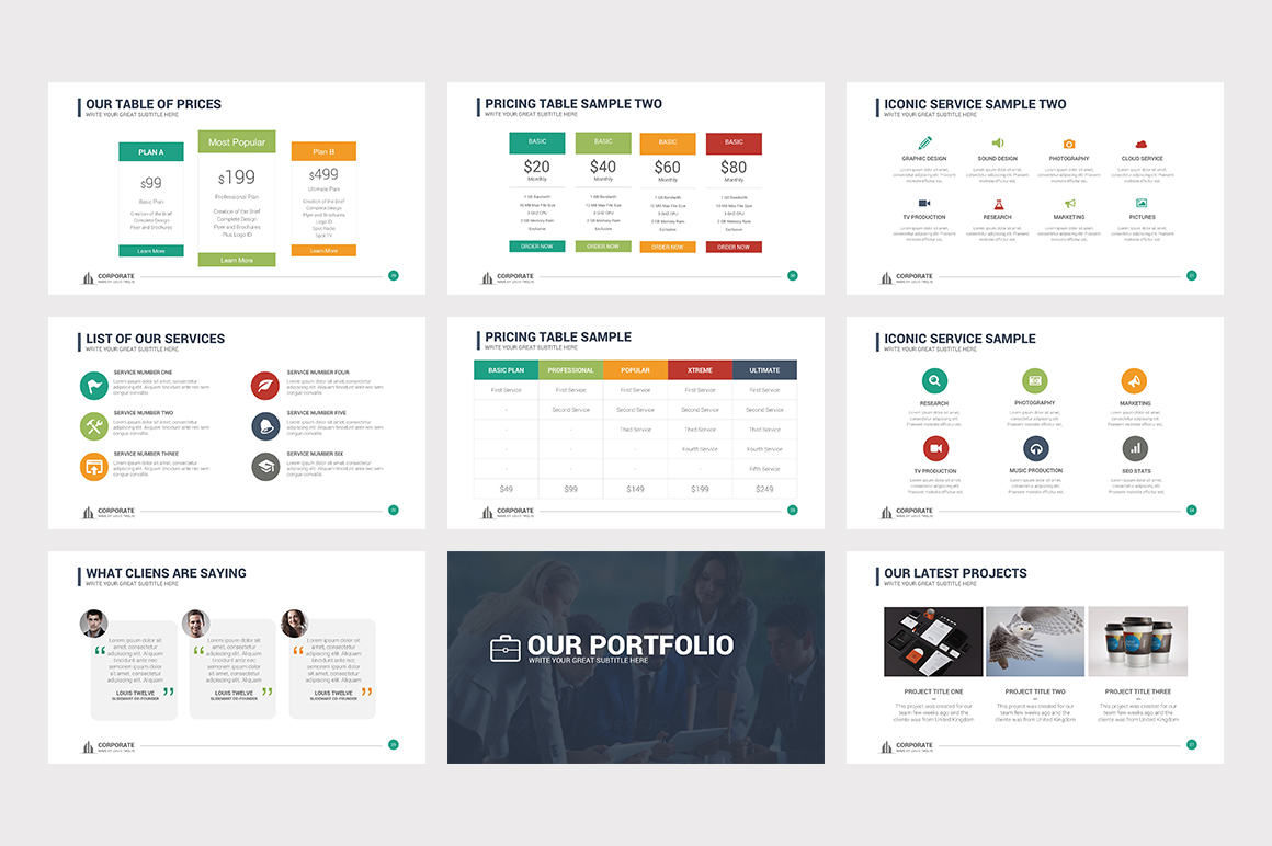 Corporate Overview PowerPoint Template