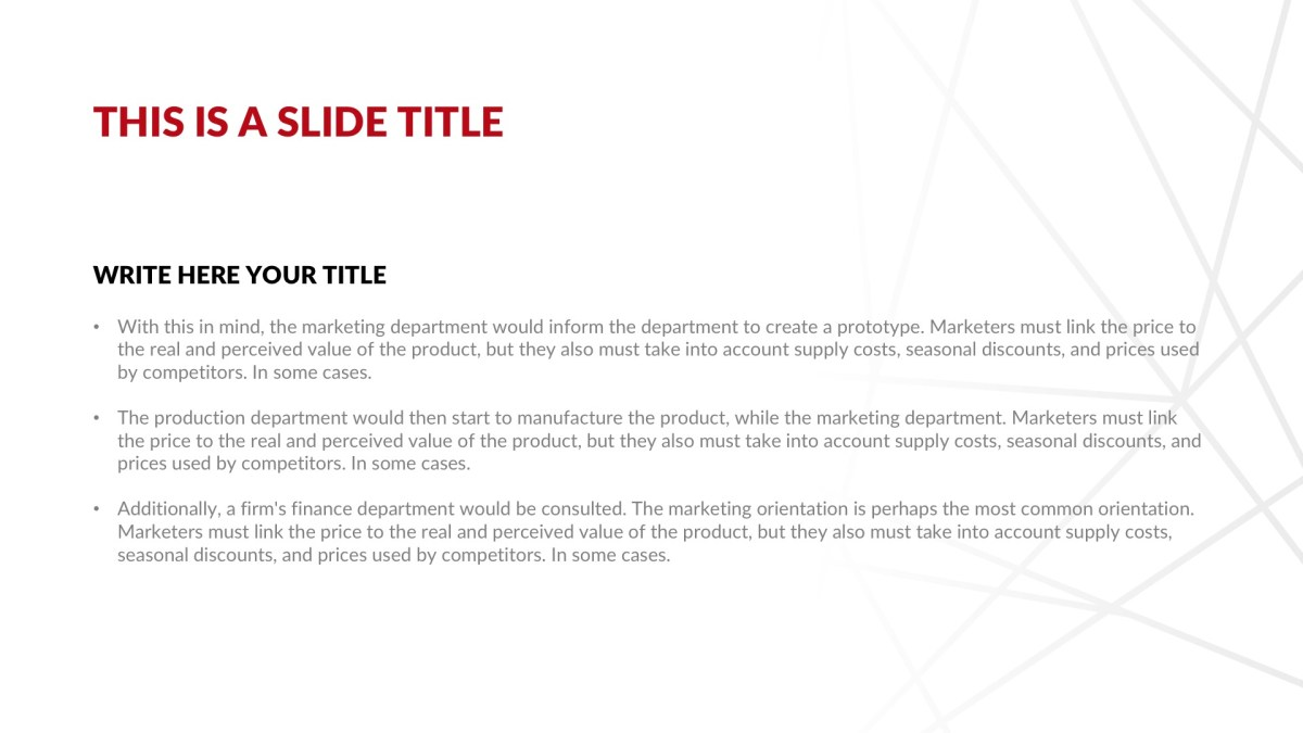 Investment Real Estate Free PowerPoint Template, Google Slides, Keynote