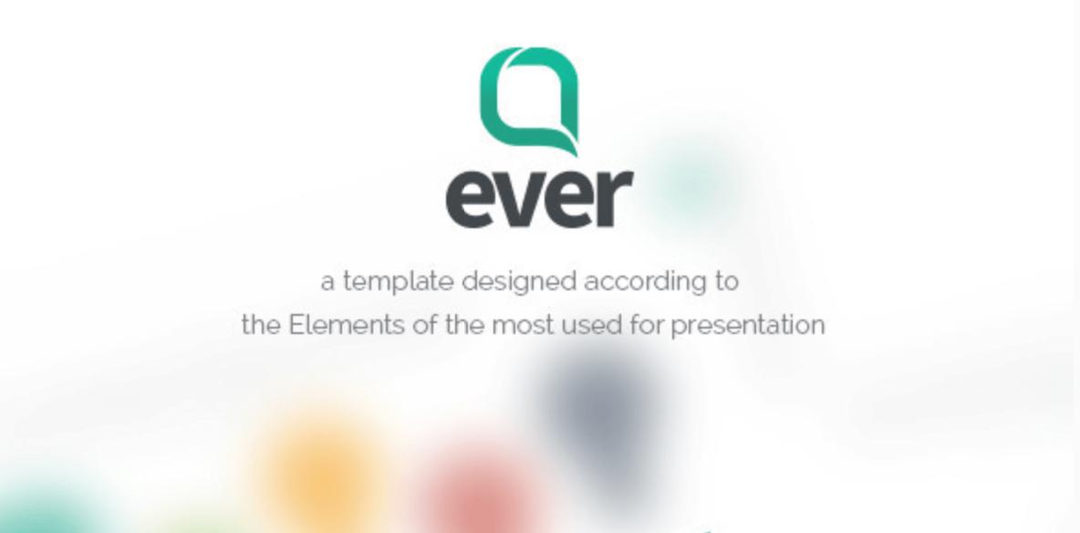 Ever - Multipurpose Presentation Keynote Template